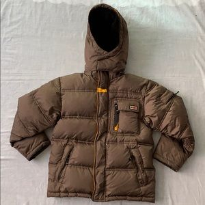 Snozu Boys Brown Winter Puffers 7/8